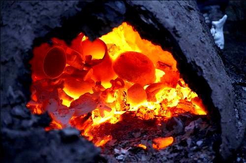 Печь обжига керамики своими руками фото